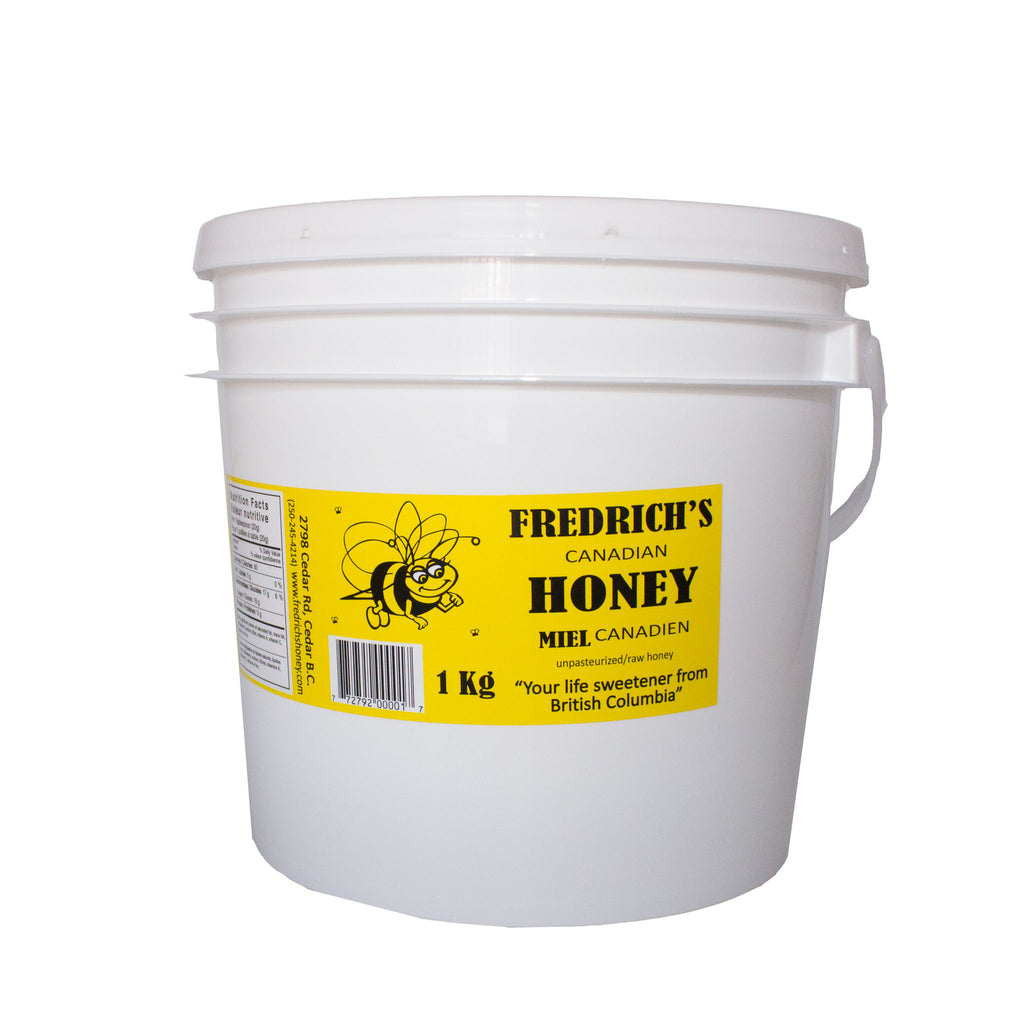 Wildflower Honey - Unpasteurized bulk size