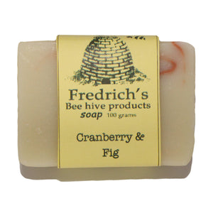 Natural Cranberry & Fig Soap