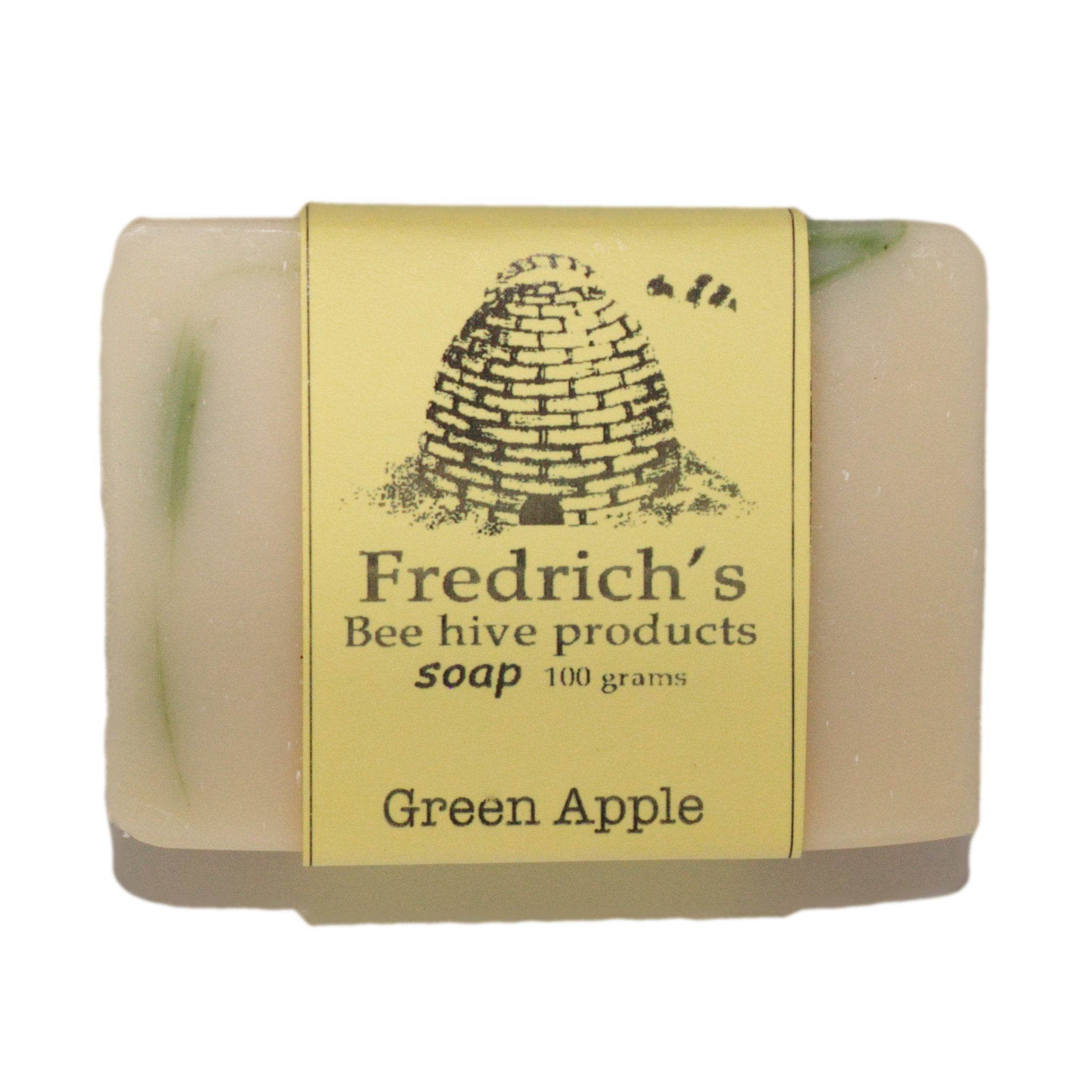 Soap handmade green apple