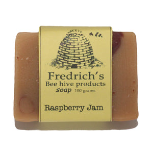 Natural Raspberry Fruit Scented  Soap