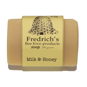 Handmade soap milk honey natural