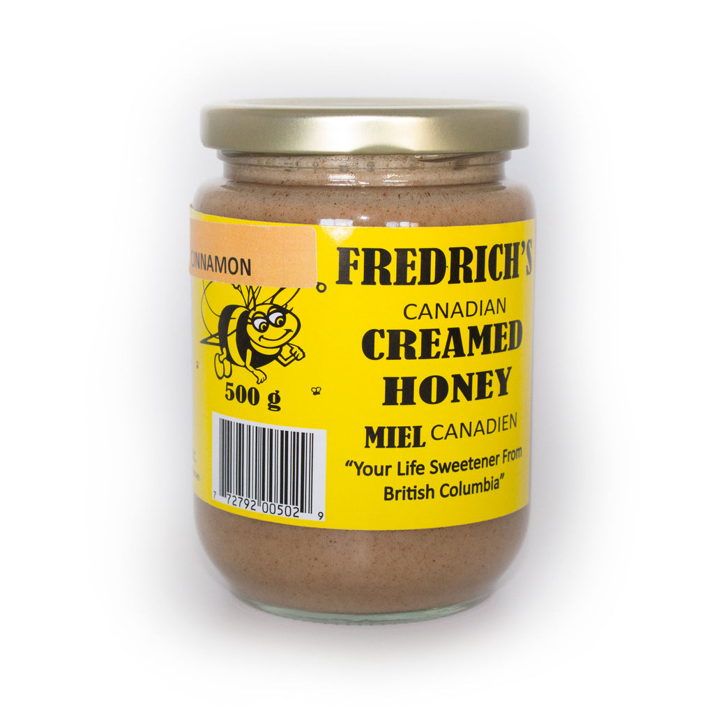Creamed Honey - Cinnamon Flavour, Unpasteurized