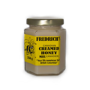 Creamed honey unpasteurized