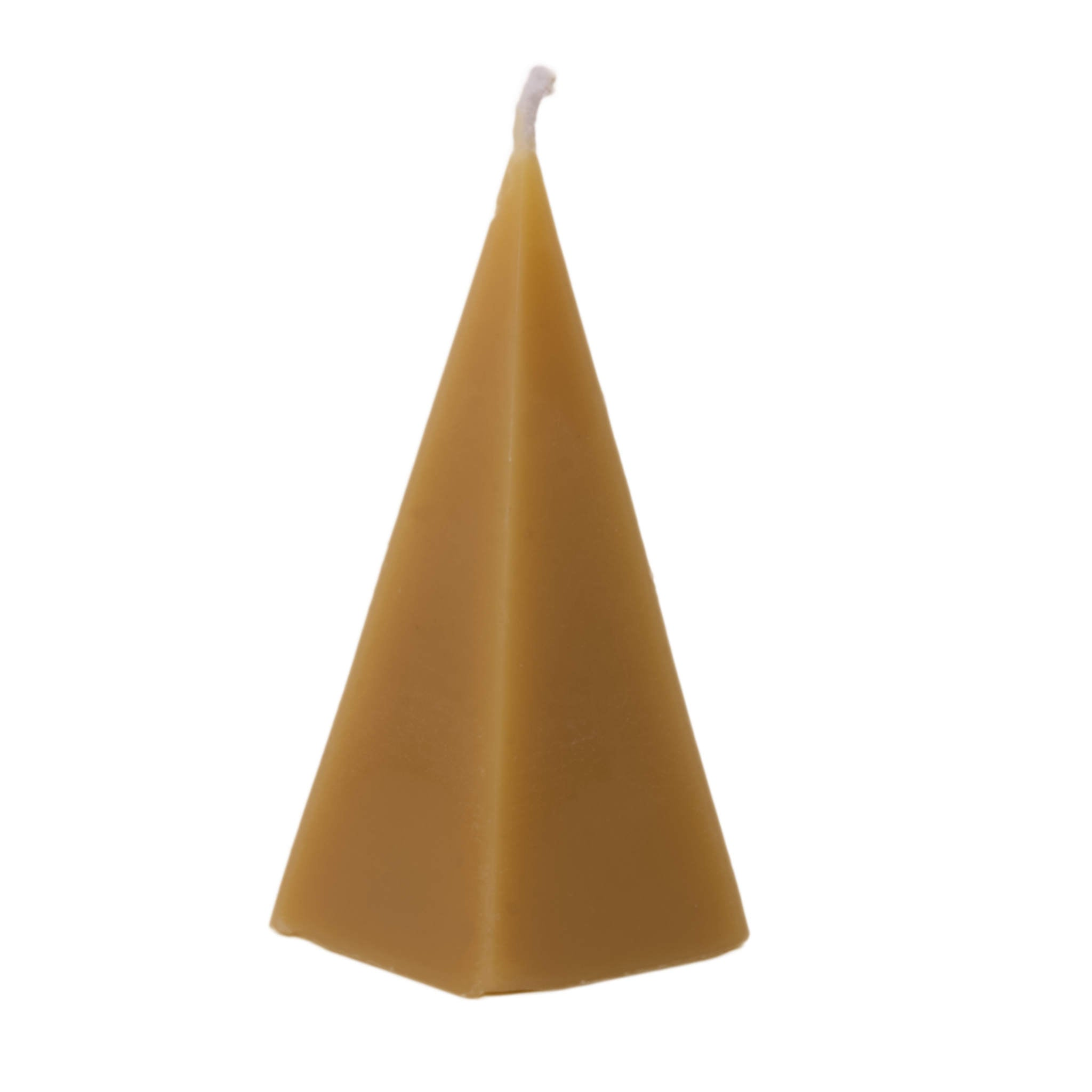 Pyramid Candle Beeswax