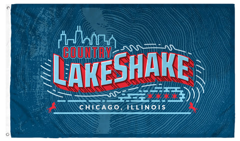 Country LakeShake Flag