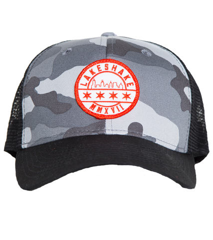 Patch Camo Hat