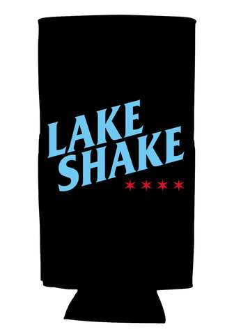 Black Tallboy Koozie