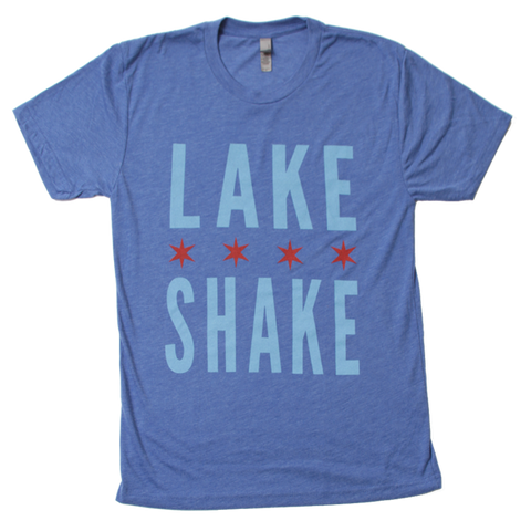 Heather Blue LakeShake Tee