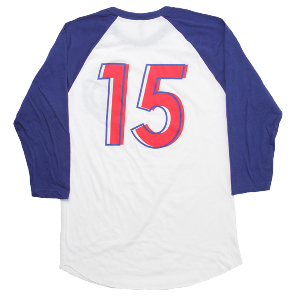 LS 15 Royal Blue/White Baseball Tee