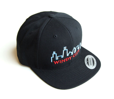 Black Windy City Snapback