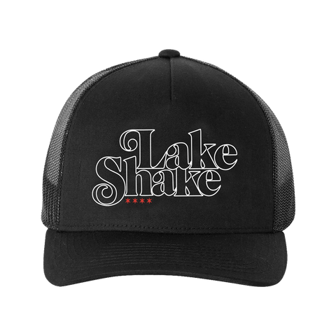 Black LakeShake Trucker Hat