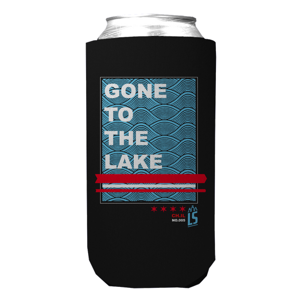 Cheers to 5 Years Tall Boy Koozie