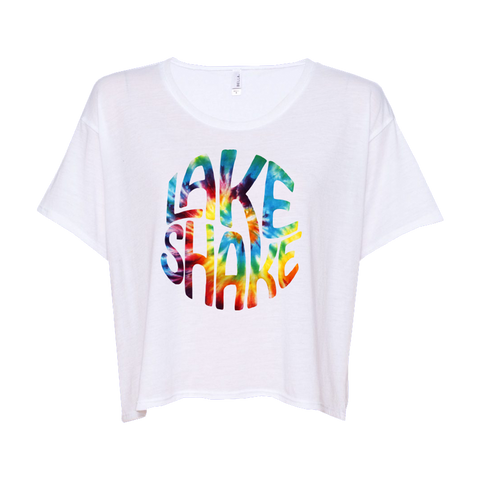 Rainbow LakeShake Crop Top