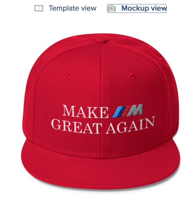 Make ///M Great Again Hat