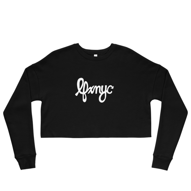 LFxNYC Crop Sweatshirt freeshipping - Lonely Floater