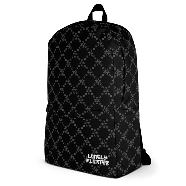 LF Fishscale Monogram Tag Backpack freeshipping - Lonely Floater