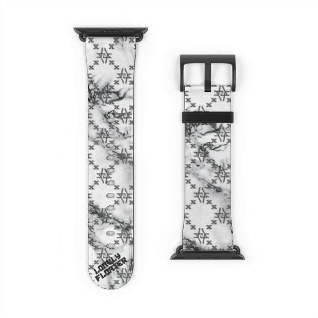 Marb Fish Scale Monogram Apple Watch Band freeshipping - Lonely Floater