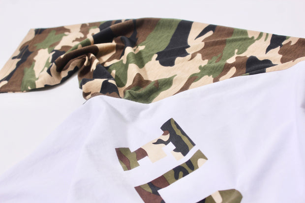 Camo Floater Raglan Tee freeshipping - Lonely Floater