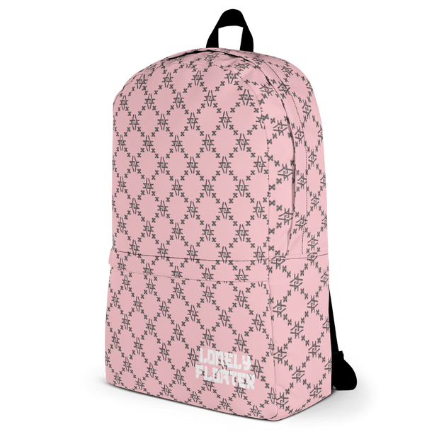 Pink Fishcale Backpack