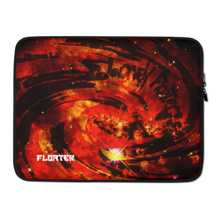 Fire Red Laptop Sleeve freeshipping - Lonely Floater