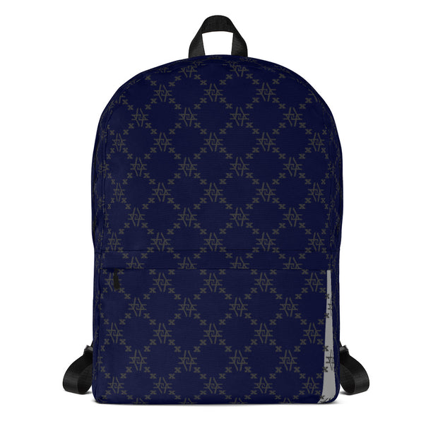 Dark Blu Fishscale Backpack freeshipping - Lonely Floater