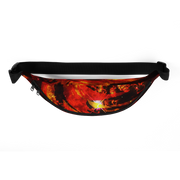 Fire Red Fanny Pack freeshipping - Lonely Floater