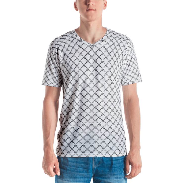 Fishscale Floata V-Neck Men's T-shirt