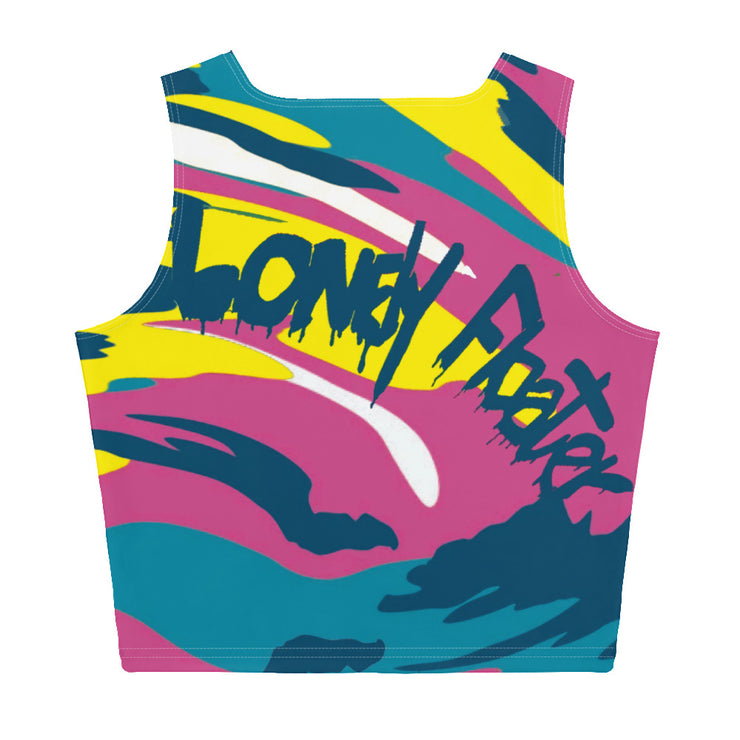 Tropicamo Crop Top freeshipping - Lonely Floater