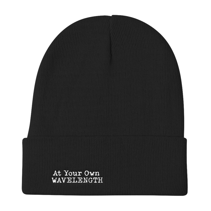 At Your Own Wave Length Knit Beanie