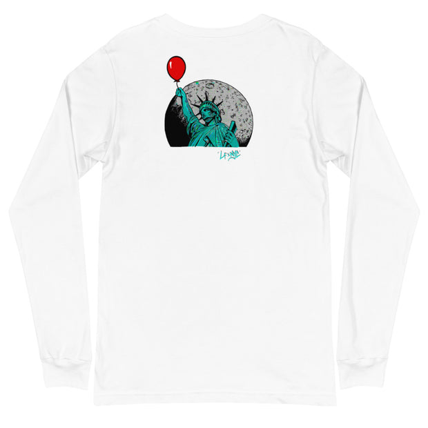 NY Reppin' Long Sleeve Tee freeshipping - Lonely Floater