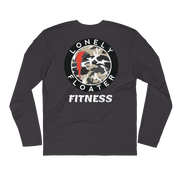 LFF Long Sleeve Fitted Crew Gym Shirt freeshipping - Lonely Floater