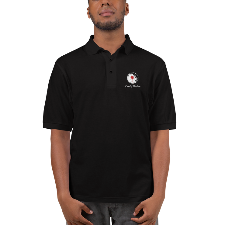 VQ Embroidered Polo Shirt