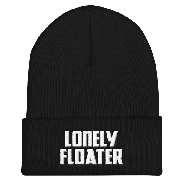 Lonely Floater Cuffed Beanie