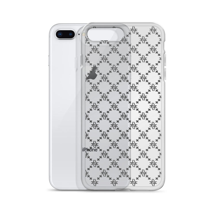 Fishscale Floata (Introvert Transparent) iPhone Case