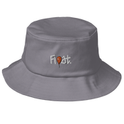 Old Float Orange School Bucket Hat