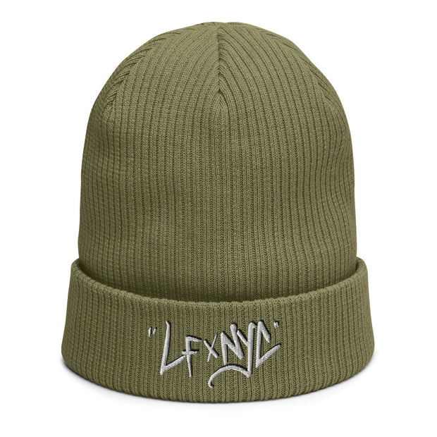 LFxNYC Organic ribbed beanie freeshipping - Lonely Floater