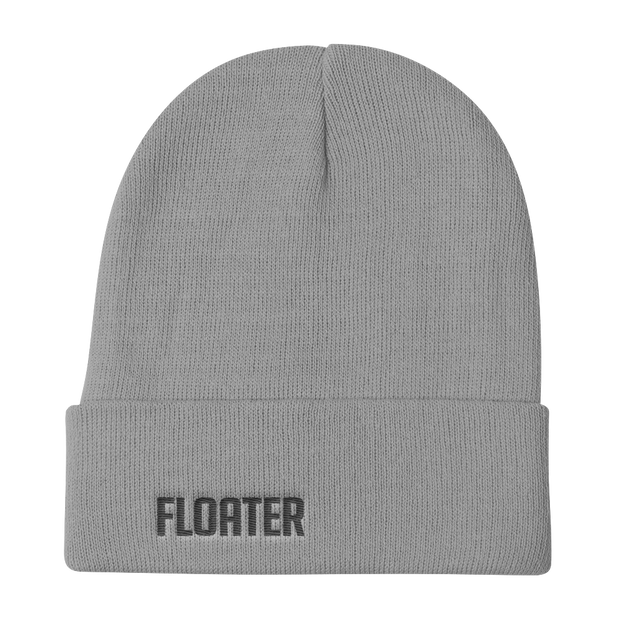 Floater Camo Red Knit Beanie