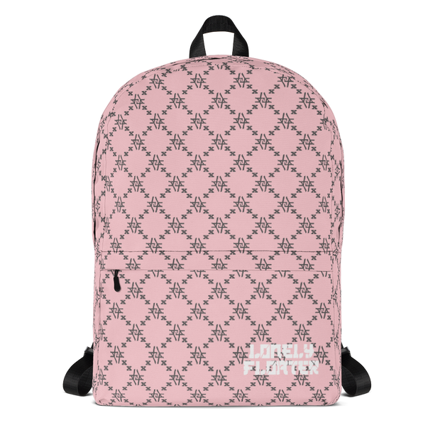 Pink Fish Scale Monogram Backpack freeshipping - Lonely Floater