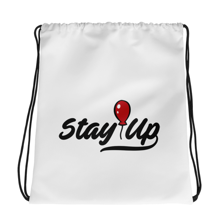Stay Up Drawstring bag