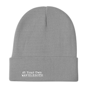 At Your Own Wave Length Knit Beanie freeshipping - Lonely Floater