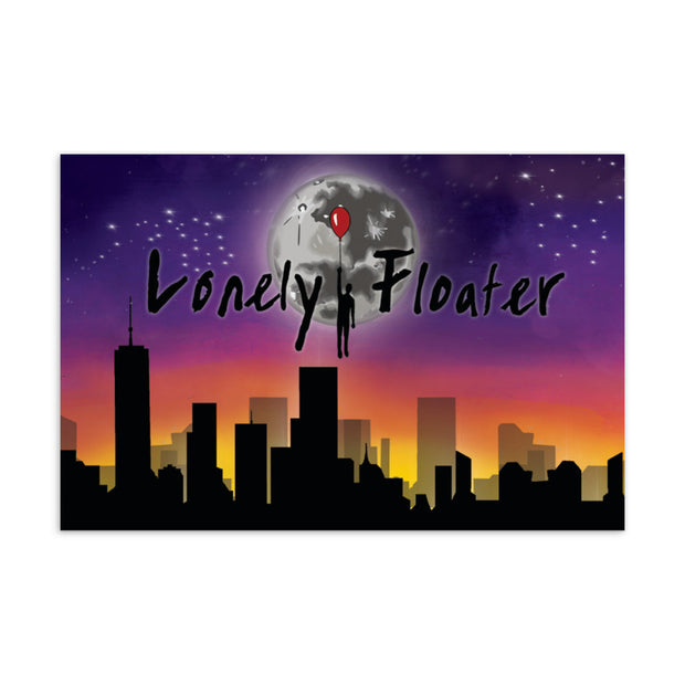 Lonely Floater New Gen Standard Postcard freeshipping - Lonely Floater