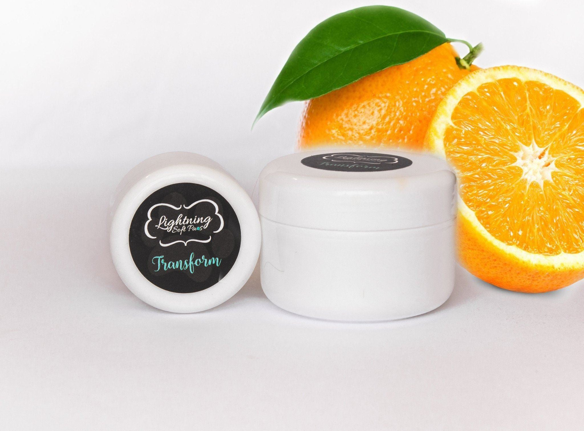 Transform 'Sweet Orange' Paw Cream-Lightning Soft Paws