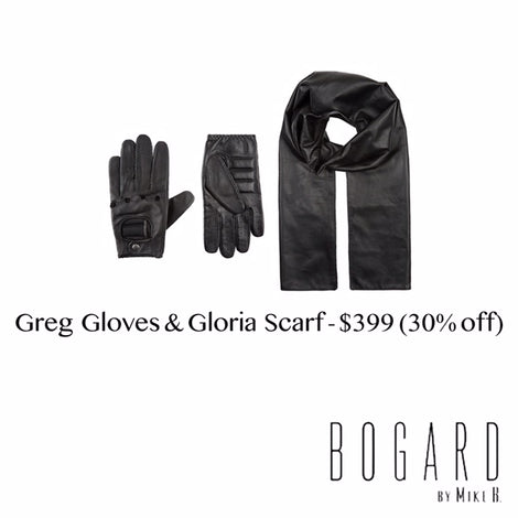 Greg Gloves & Gloria Scarf