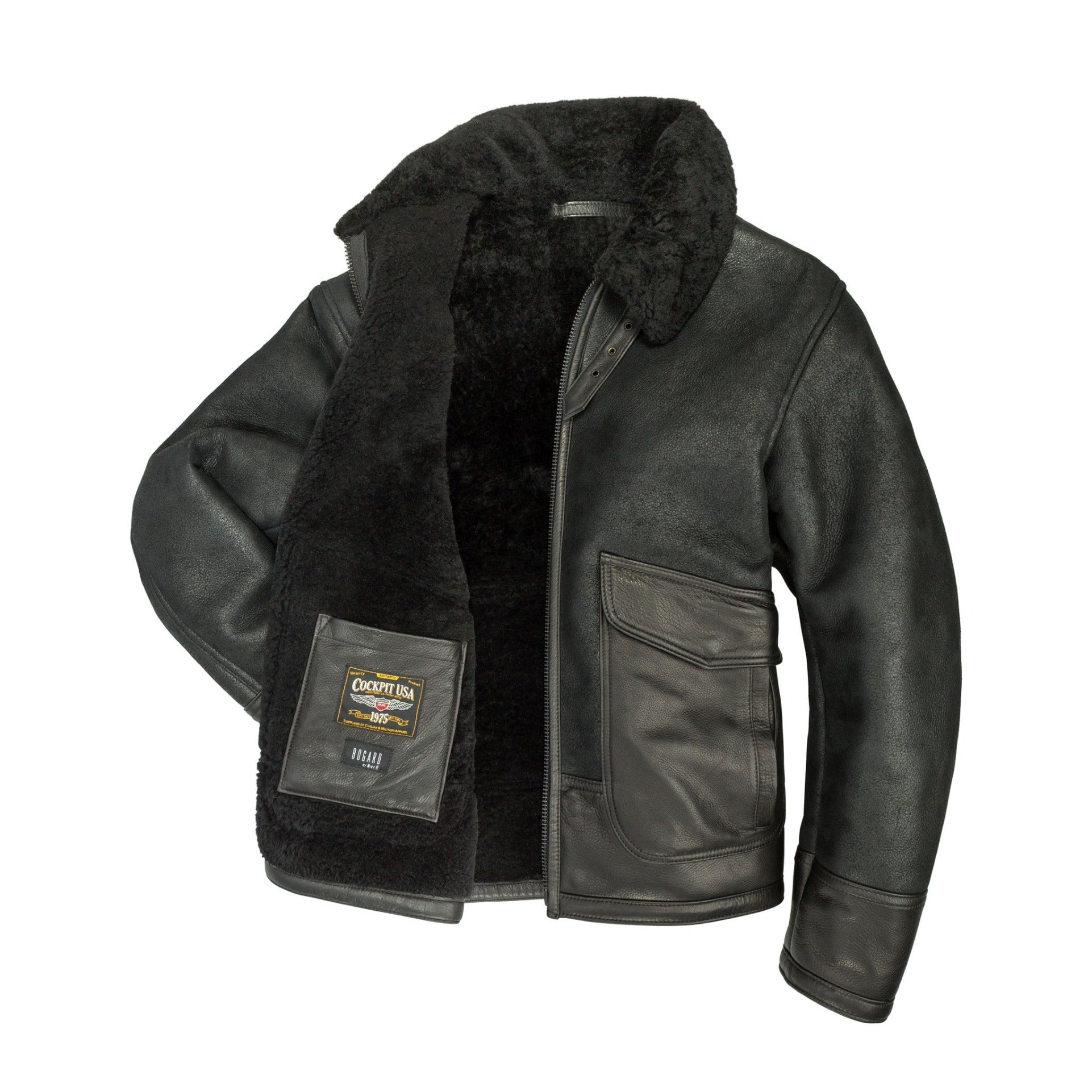 "The ""Greenburgh"" Waistline Shearling Coat"