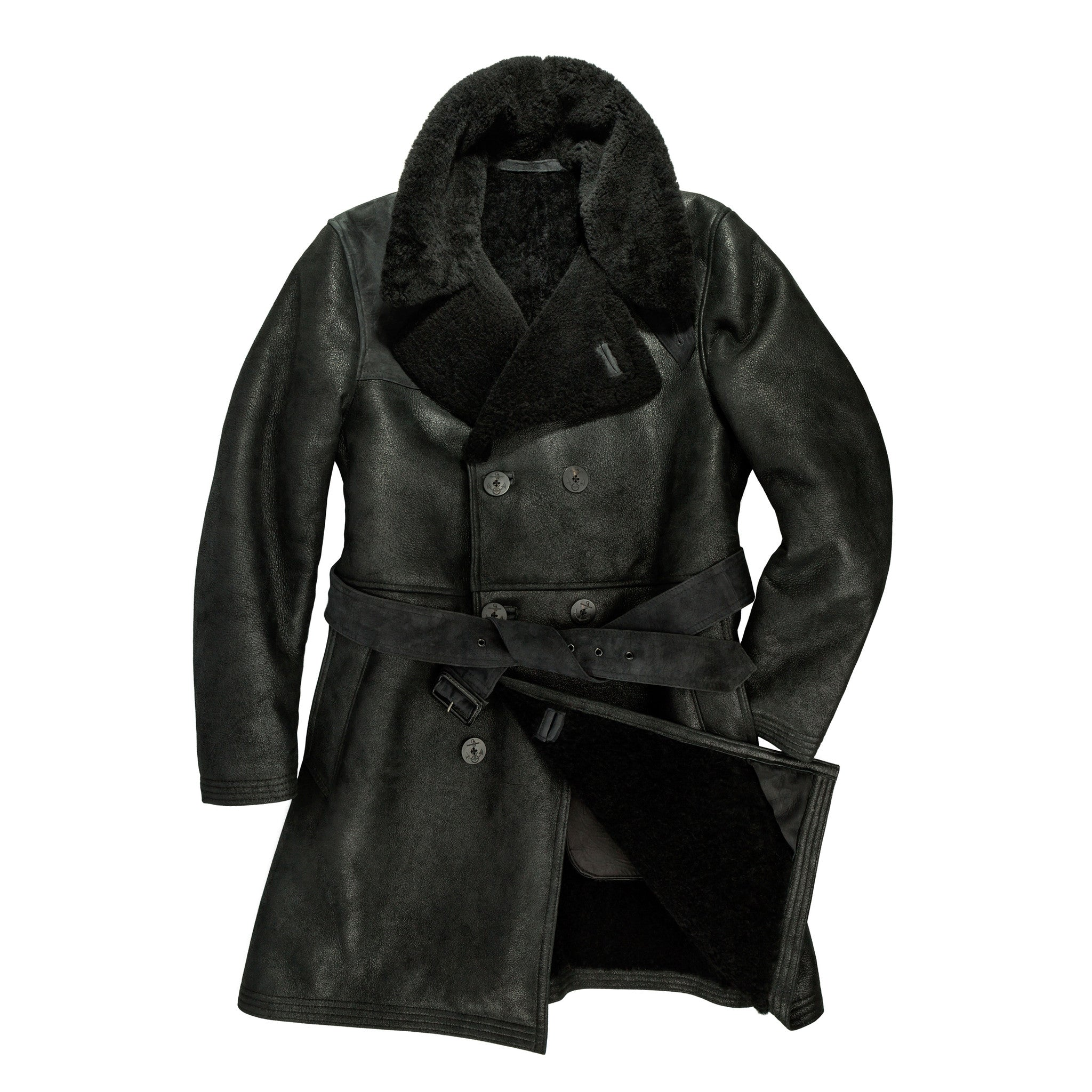 "The ""Highview"" 3/4 Shearling Coat"