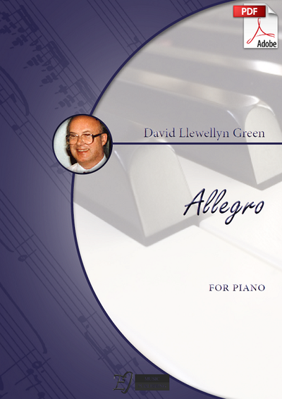 David Llewellyn Green: Allegro for Piano (.PDF)
