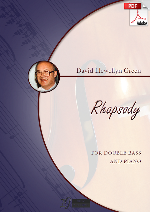 David Llewellyn Green: Rhapsody for Double Bass and Piano (.PDF)