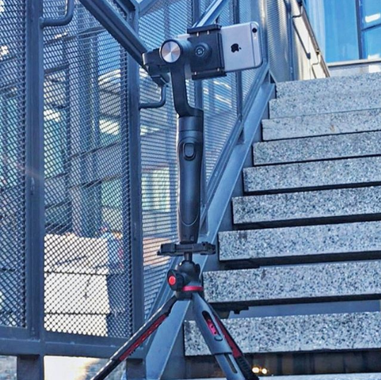 Smove Smartphone Stabilizers And Powerbank In One