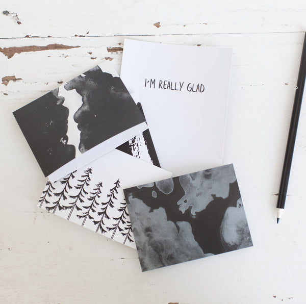 Encouragement Cards - White + Black