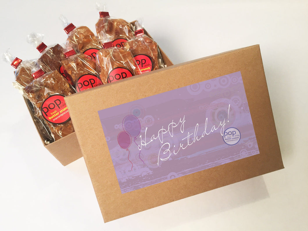 Happy Birthday | gift box | p.o.p. candy co.